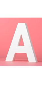 wooden letter white