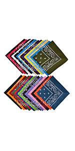 28 pack bandanas