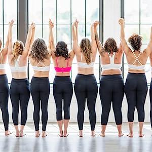 yoga, sports, barre, active women