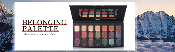 21 colors eyeshadow makeup palette
