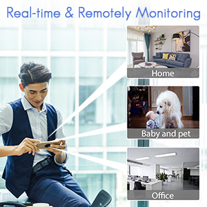 Real-time & Remotely Monitoring