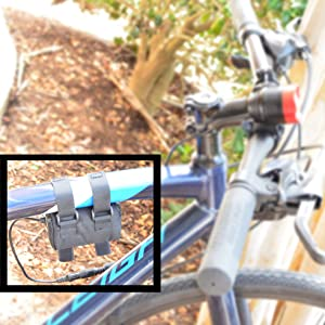 Rechargeable Battery Mount Bike Light Headlight Bicycle Convenient Easy Go Bright 1000 Lumen