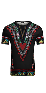 Men's African Printed T Shirt