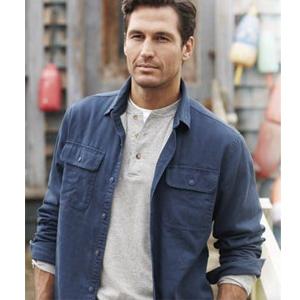 COOFANDY Men's Slim Fit Henley Shirt Long Sleeve Casual Cotton T Shirts