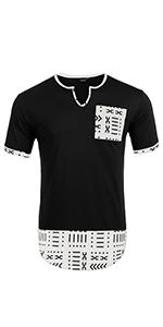 Men's Hipster Hip Hop T Shirts