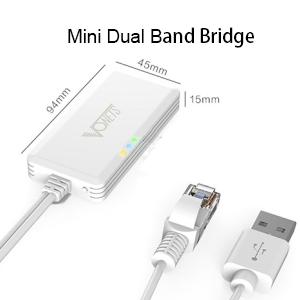 mini wifi dual band bridge