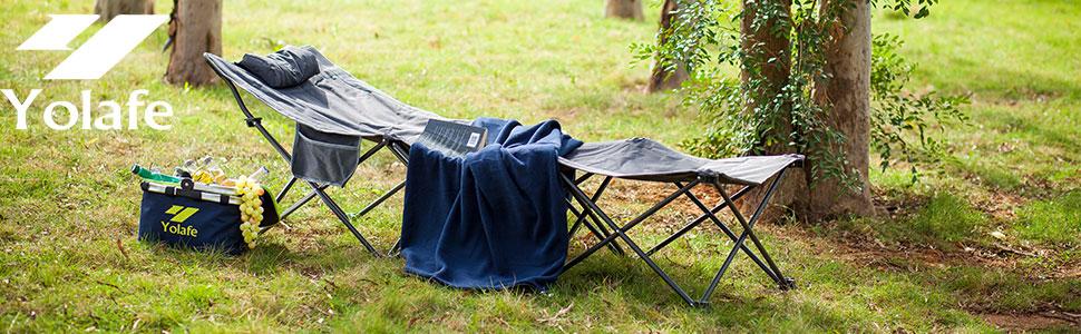 camping cot folding