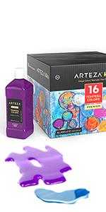 Tempera Paint for Kids Set of 16 (13.5 US fl oz./400 ml)