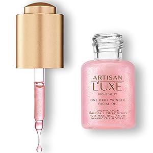 Radiant Skin, Argan Oil, Rose Oil, Rose Pearl Illuminators, Glowing Skin