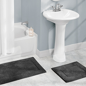 vanity bathtub shower tile floor small medium large