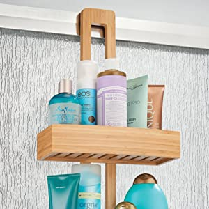 Water-friendly properties of bamboo are perfect for shower environments