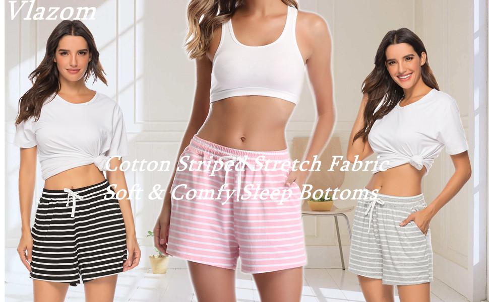Vlazom Women's Pajama Short Bottoms