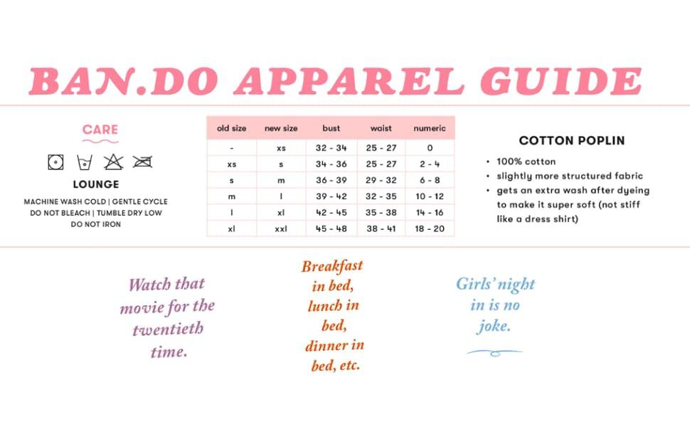 apparel guide