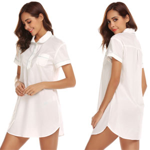 boyfriend style sleepshirt take you comfy and relaxation