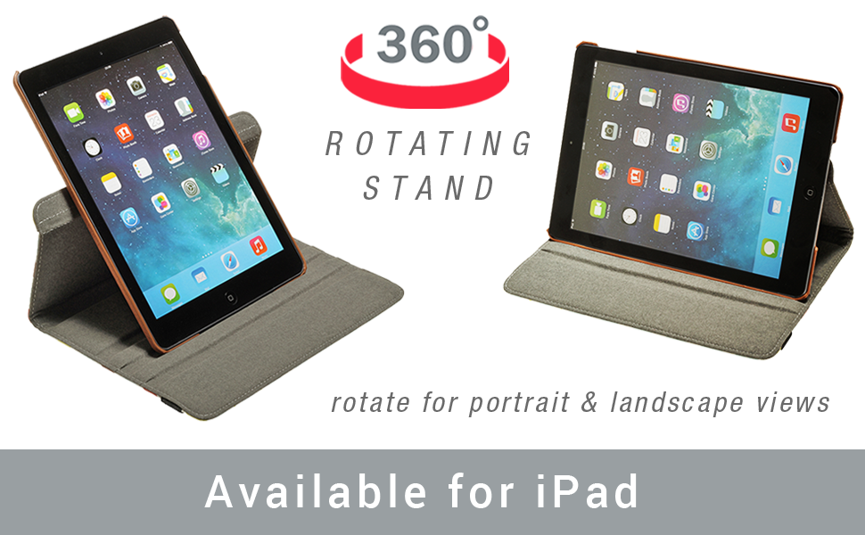 rotating stand case