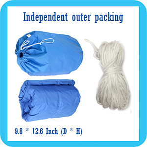 IC ICLOVER Boat Cover with Independent Outer Packing and Wind Rope