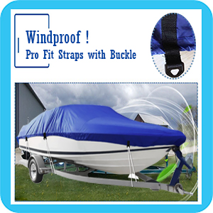 IC ICLOVER Boat Cover Windproof Design