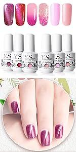 Pink Girls Series Gel Polish