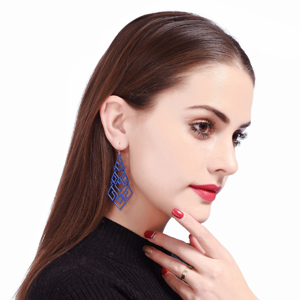 Winter Look Chandelier Dangle Drop Earrings for Women