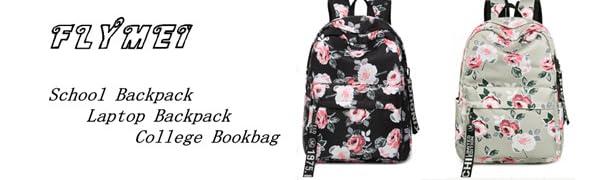 School Backpack Laptop Backpack  College Bookbag