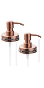 KEEGH copper soap dispenser lids