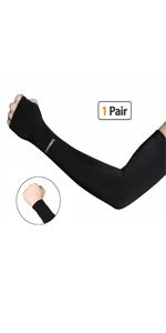 Black Cooling Arm Sleeves