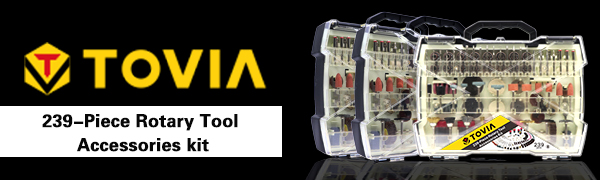 Tovia Rotary Tool Accessories Kit