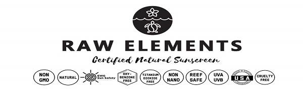 non nano organic sunscreen, cruelty free tinted moisturizer, raw elements, eco, reef friendly